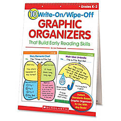Scholastic Reusable Graphic Organizers Box Of