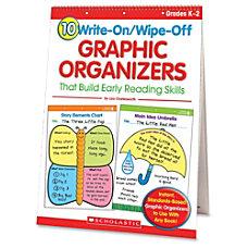 Scholastic Reusable Graphic Organizers Box Of