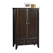 Sauder Shoal Creek Armoire Storage Cabinet
