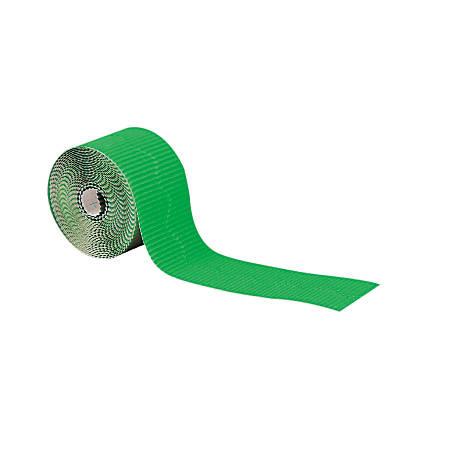 Pacon® Bordette® Scalloped Border, Apple Green