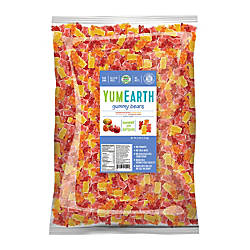 Yummy Earth Gummy Bears 5 Lb
