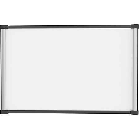 """Lorell Magnetic Dry-erase Board - 36"""" (3 ft) Width x 24"""" (2 ft) Height - Aluminum Steel Frame - Rectangle - 1 Each"""