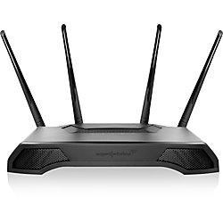 Amped Wireless ATHENA RTA2600 IEEE 802.11ac Ethernet Wireless Router - 2.40 GHz ISM Band - 5 GHz UNII Band(4 x External) - 325 MB/s Wireless Speed - 4 x Network Port - 1 x Broadband Port - USB - Gigabit Ethernet - Desktop, Wall Mountable