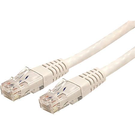 StarTech.com 5 ft White Molded Cat6 UTP Patch Cable - ETL Verified