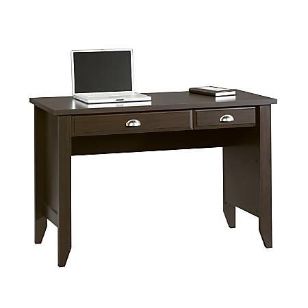 Sauder® Shoal Creek Computer Desk with Flip Down Computer Tray, Jamocha Wood