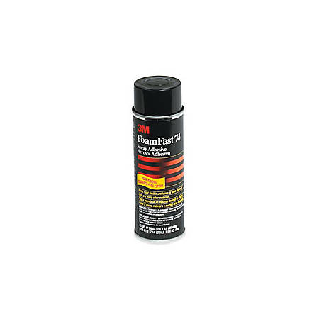 3M™ Foam Fast 74 Adhesive, 24 Oz Can, Case Of 12 Cans