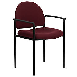 Flash Furniture Comfortable Stackable Steel Side