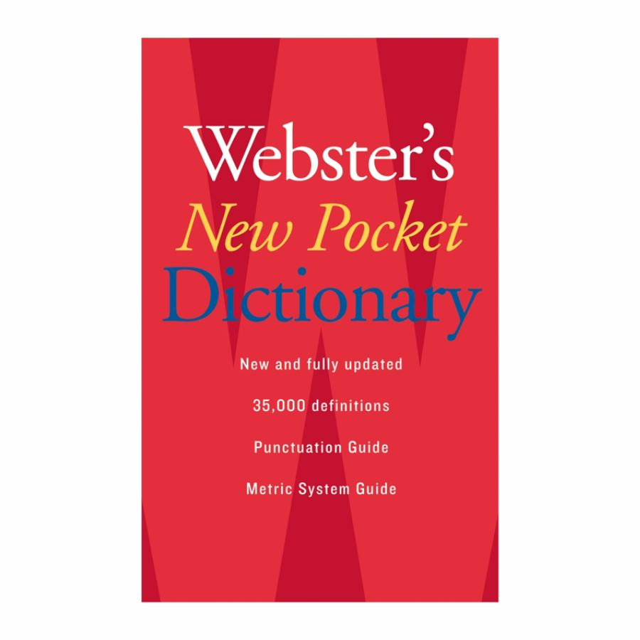 Websters New Pocket Dictionary by Office Depot OfficeMax