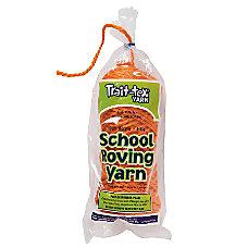 Pacon Acrylic Roving Yarn Orange