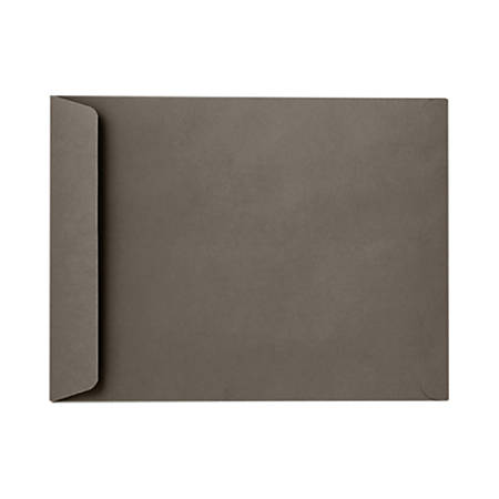 "LUX Open-End Envelopes With Peel & Press Closure, 6"" x 9"", Smoke Gray, Pack Of 1,000"