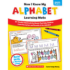 Scholastic Now I Know My Alphabet