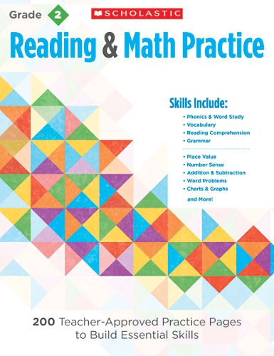 Scholastic Reading Math Practice Grade 2 By Office Depot Officemax
