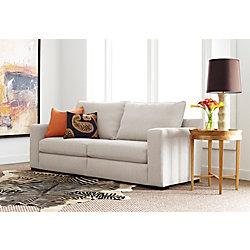 """Serta® Geneva Sofa, 85"""", Beige"""