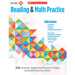 Scholastic Reading Math Practice Grade 5