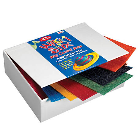 Wikki Stix® Big Count Box, Box Of 468