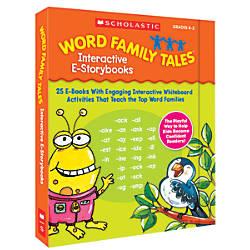 Scholastic Word Family Tales Interactive E