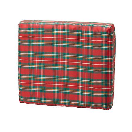 """DMI® Convoluted Foam Chair Pad Seat Cushion, 16""""H x 18""""W x 4""""D, Plaid"""