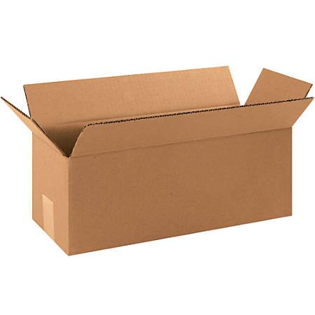 "Office Depot® Brand Long Corrugated Boxes, 5""H x 5""W x 16""D, Kraft, Bundle Of 25"