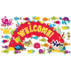 Scholastic Ocean Welcome Bulletin Board Set