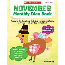 Scholastic Monthly Idea Book November