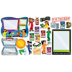Scholastic Super Secret Agents Bulletin Board