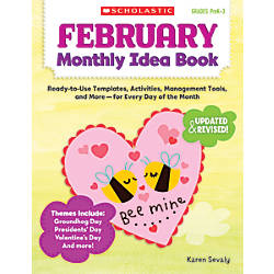 Scholastic Monthly Idea Book February