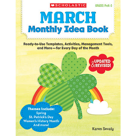 Scholastic Monthly Idea Book, March