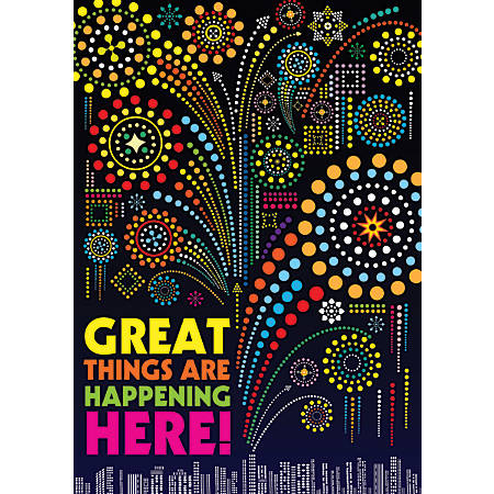"Scholastic POP! Chart, Great Things, 25 3/8"" x 19"", Multicolor"