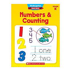Scholastic Basic Skills Kindergarten Numbers Counting