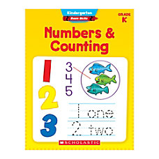 Scholastic Basic Skills Kindergarten Numbers Counting