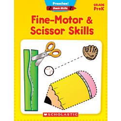 Scholastic Basic Skills Preschool Fine Motor