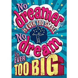 Scholastic POP Chart No Dreamer Is