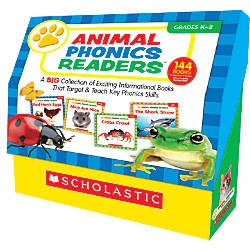 Scholastic Animal Phonics Readers 12 x