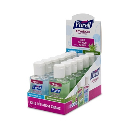 purell advanced instant hand sanitizer 2 fl oz by office depot