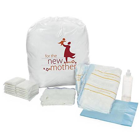 Medline Select Maternity Kits, White, Pack Of 8 Kits