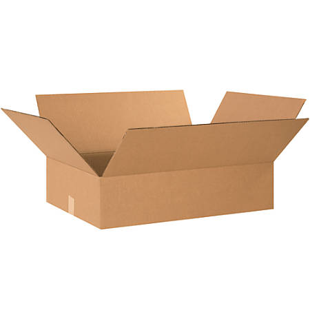 """Office Depot® Brand Corrugated Boxes, 8""""H x 20""""W x 26""""D, 15% Recycled, Kraft, Bundle Of 15"""