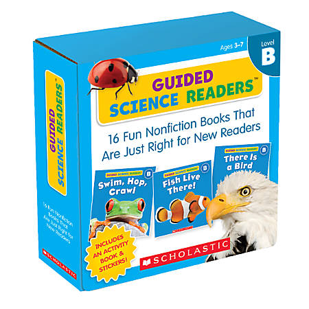 Scholastic Guided Science Readers Parent Pack, Level B