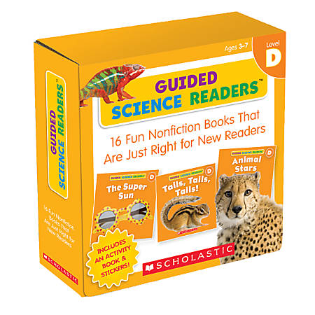 Scholastic Guided Science Readers Parent Pack, Level C