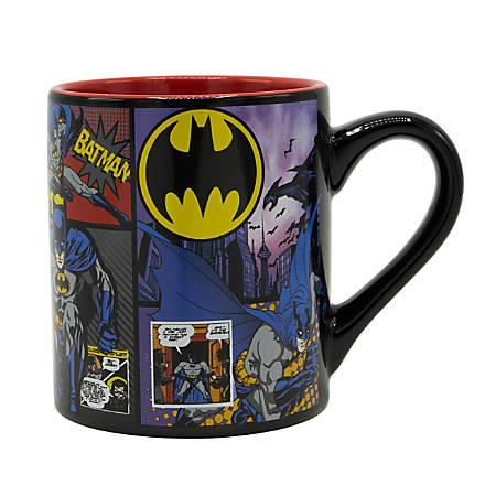 Silver Buffalo DC Comics Mug, Batman, 14 Oz