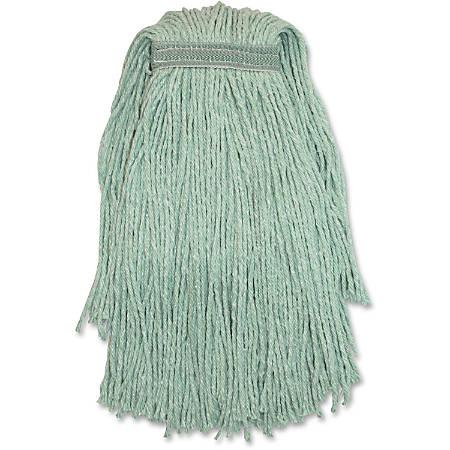Genuine Joe Blended Yarn Green Mophead - Yarn