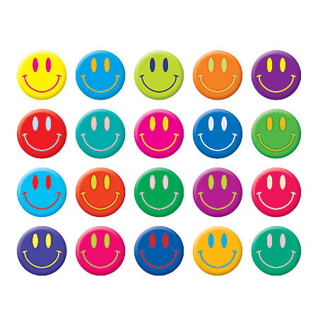 Scholastic Stickers Smiley Faces Pack Of