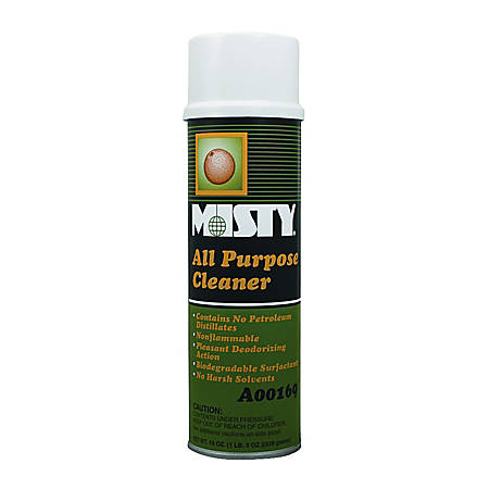 Amrep/Misty All Purpose Cleaner, Citrus Scent, Environmentally Friendly, 19 ounce can, 12 Cans to a Case, Sold by the Case
