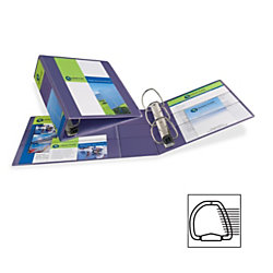 avery 1 touch hvy duty ezd lock ring view binder 4 binder capacity