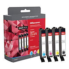Office Depot ODCLI271BCMY Canon CLI 271