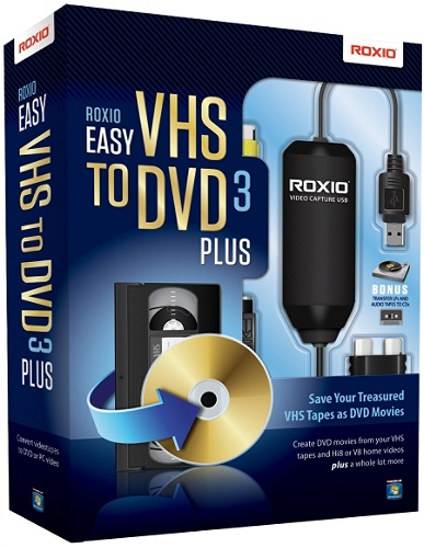 Roxio® Easy VHS To DVD 3 Plus, Traditional Disc Item # 342310