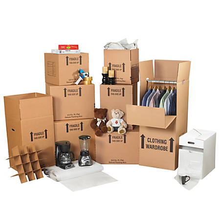 Office Depot Brand Deluxe Home Moving Kit By Office Depot