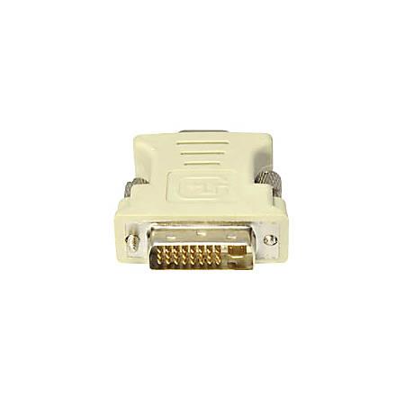 AddOn 5-Pack of DVI-I Male to VGA Female White Adapters