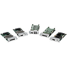 Cisco 4 Port EM Network Interface