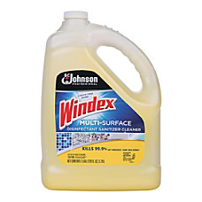 Windex Disinfectant Cleaner Multi Surface Gallon