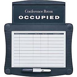 Quartet Conference Room Scheduler Black